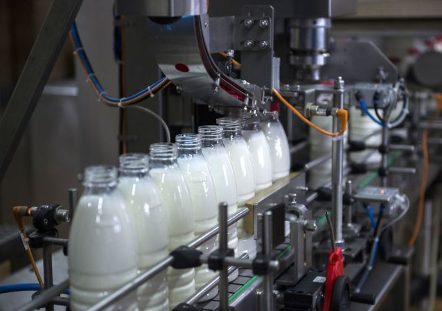 مصنع الألبان والحليب