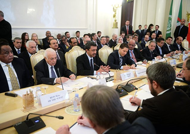 المنتدى الروسي - العربي في موسكو