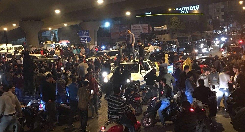 1a86e3d3d728e احتجاجات في لبنان بعد تقليد السيد نصرالله على قناة MBC - العالم