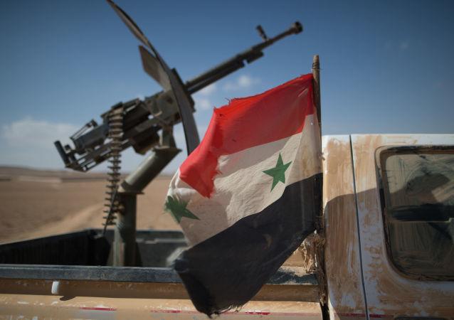 سيارة تابعة للجيش السوري