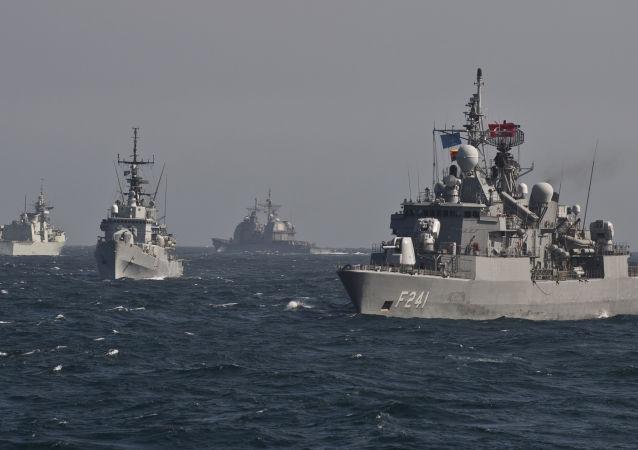 سفن حربية للناتو