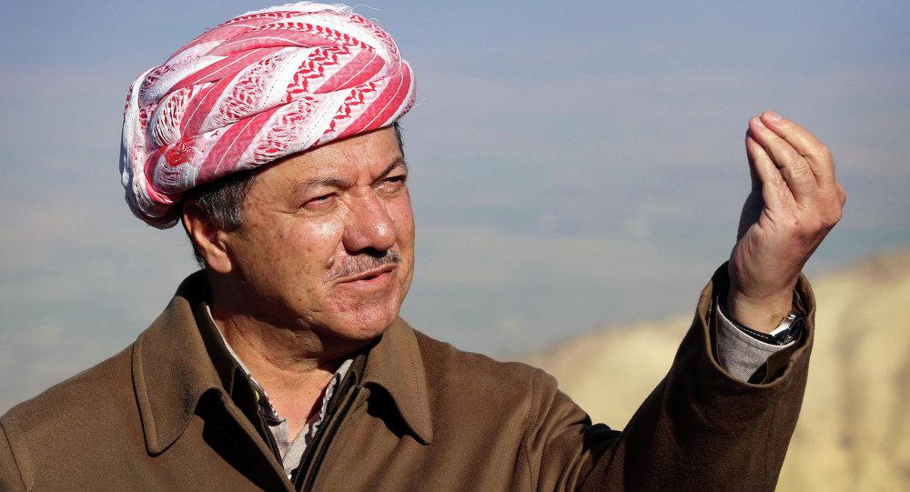 رئيس إقليم كردستان العراق مسعود بارزاني