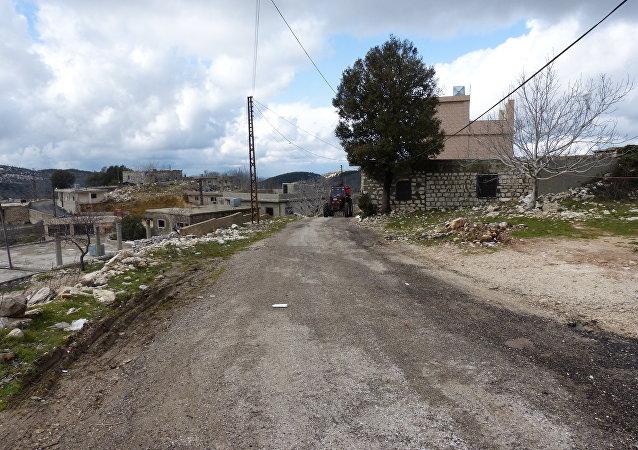 قرية اشتبرق بجسر الشغور