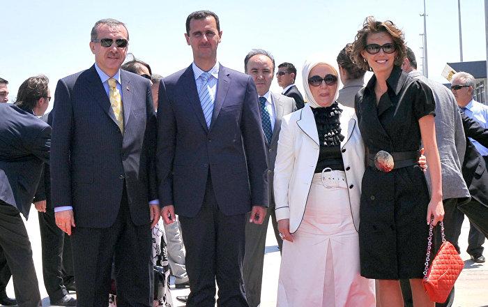 الزوجان الأسد والزوجان أردوغان يقضيان العطلة مع بعضهما