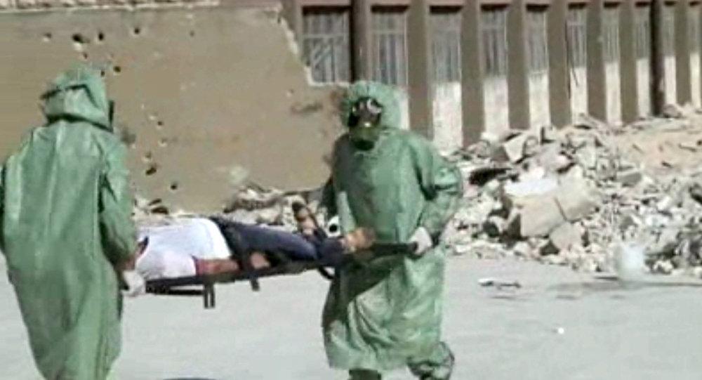 سلاح داعش الكيماوي
