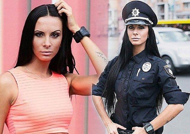 شرطية أوكرانية