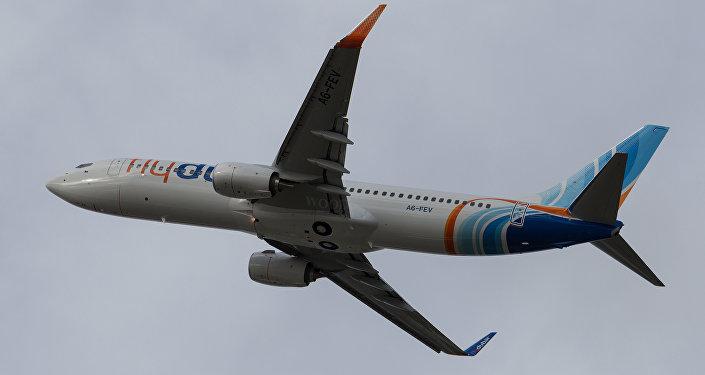 طائرة لـفلاي دبي