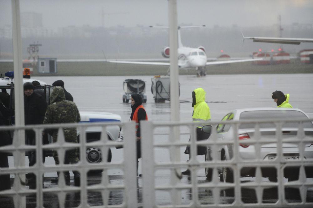 أعضاء خدمات مطار روستوف