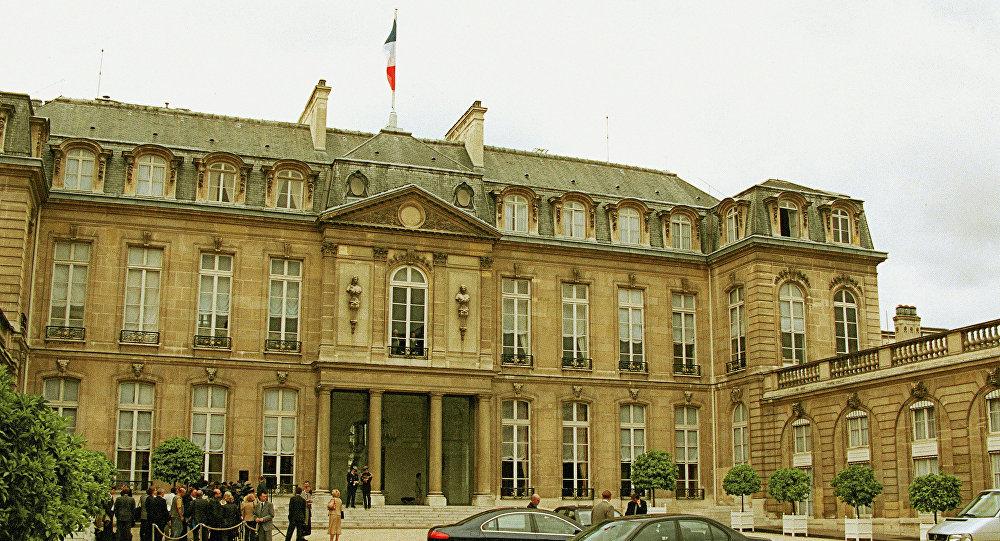 قصر الرئاسة الفرنسية في باريس