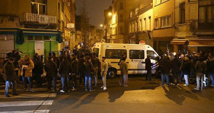 مكان مداهمة الشرطة البلجيكية