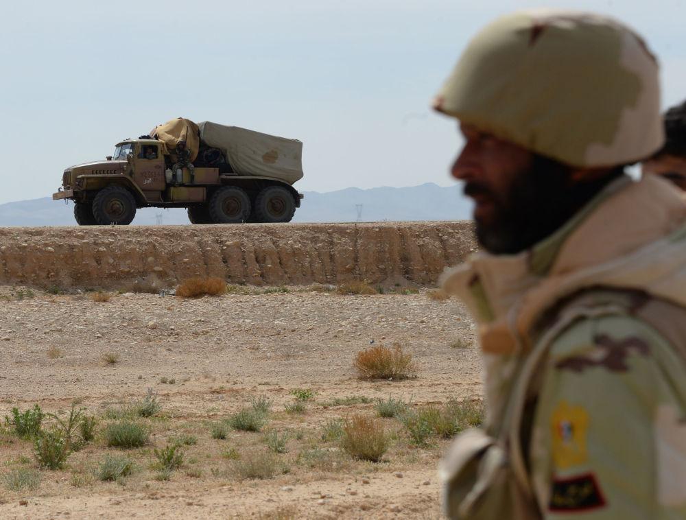 صقور الصحراء يقتربون من تحرير تدمر
