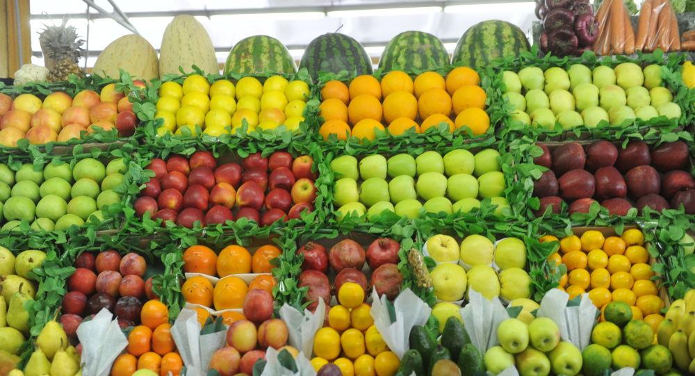 سوق الفواكه صورة أرشيفية