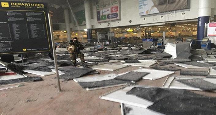 انفجار مطار بروكسل