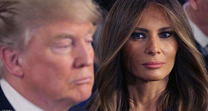 ترامب وزوجته ميلانيا