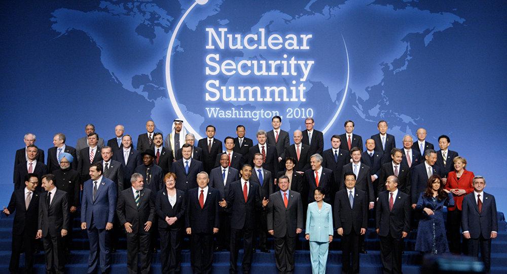 المشاركون في قمة 2010 للأمن النووي في واشنطن