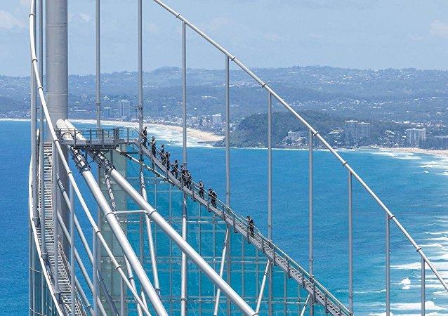 أعلى نقطة للمراقبة في أستراليا، Skypoint Observation Deck.