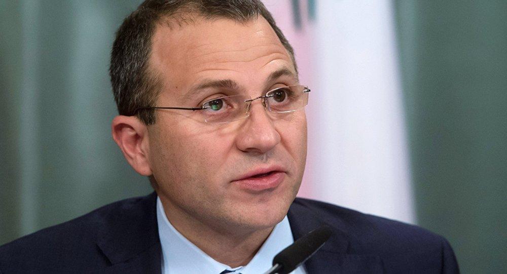 جبران باسيل وزير الخارجية اللبناني
