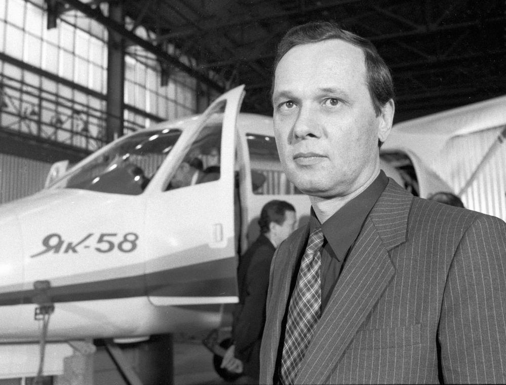 كبير مصممي طائرات ياك-58 سيرغي ياكوفليف.