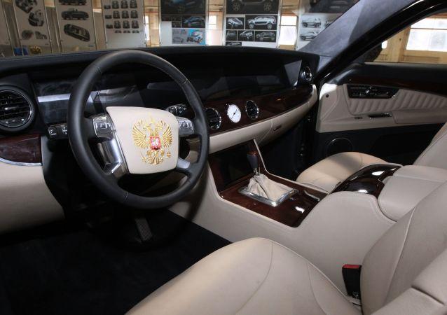 سيارة الرئيس الروسى فلاديمير بوتين من مشروع كورتيج