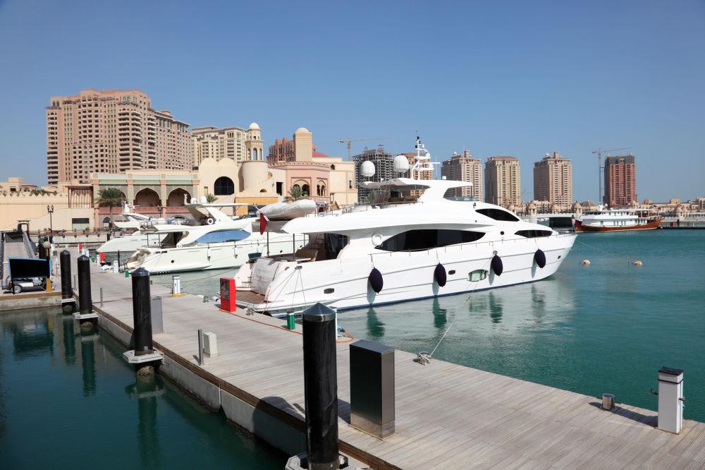 المارينا، الدوحة، قطر.