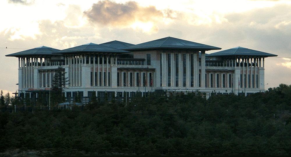 القصر الرئاسي الجديد أك اراي بأنقرة
