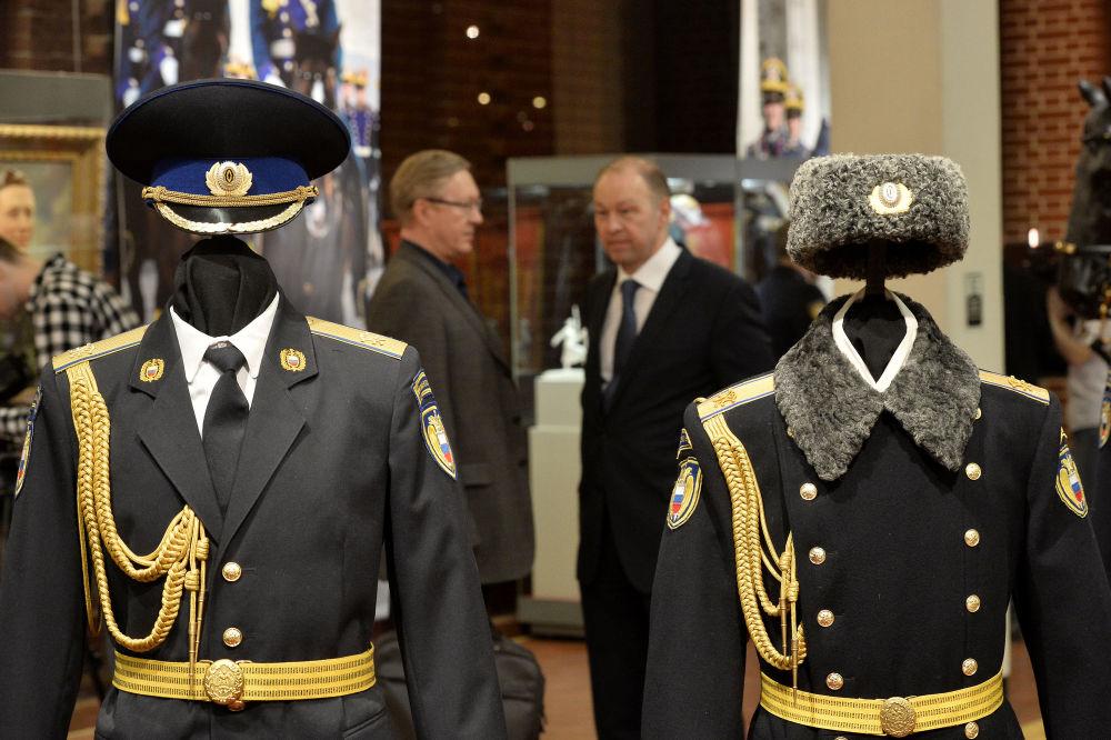 افتتاح معرض للفوج الرئاسي، تكريماً لذكرى ال_ 88 لتأسيس الفوج.