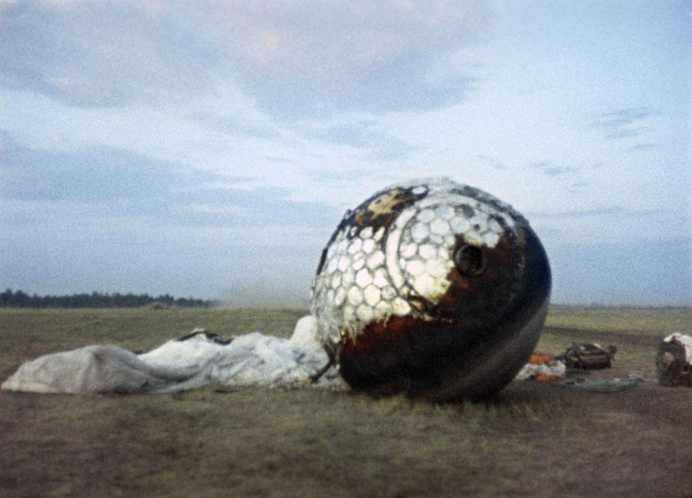 عودة مركبة يوري غاغارين إلى الأرض