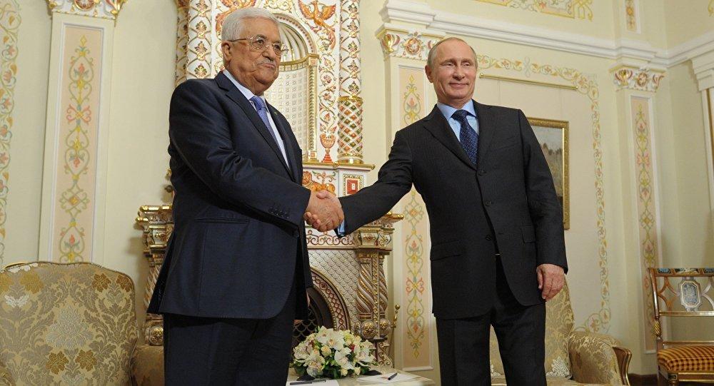 الرئيس الروسي يستقبل الرئيس الفلسطيني محمود عباس (ارشيفية)