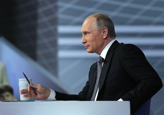الحوار البمباشر للرئيس بوتين