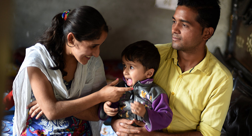 أطفال الهند