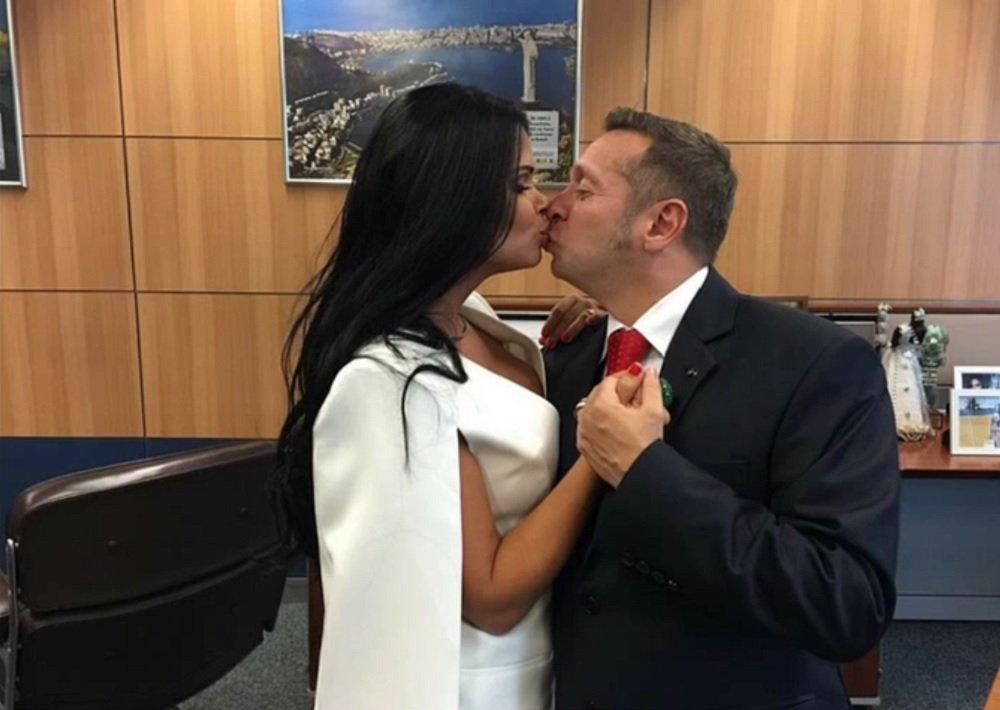 زوجة وزير السياحة البرازيلى الجديد