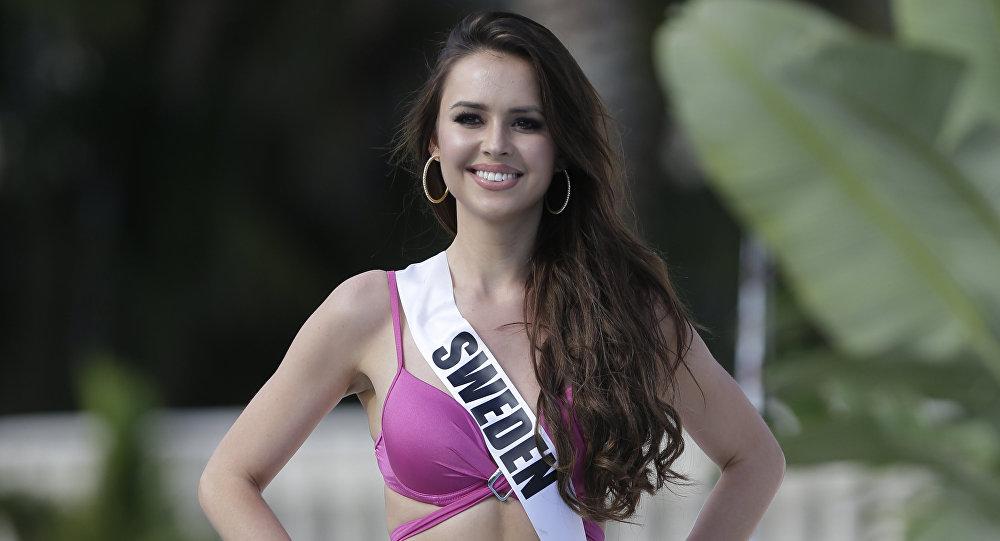 ملكة جمال السويد كاميلا هانسن