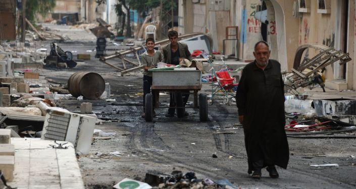 سوريا والوضع في تدمر