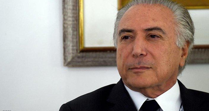 رئيس البرازيل ميشيل تامر