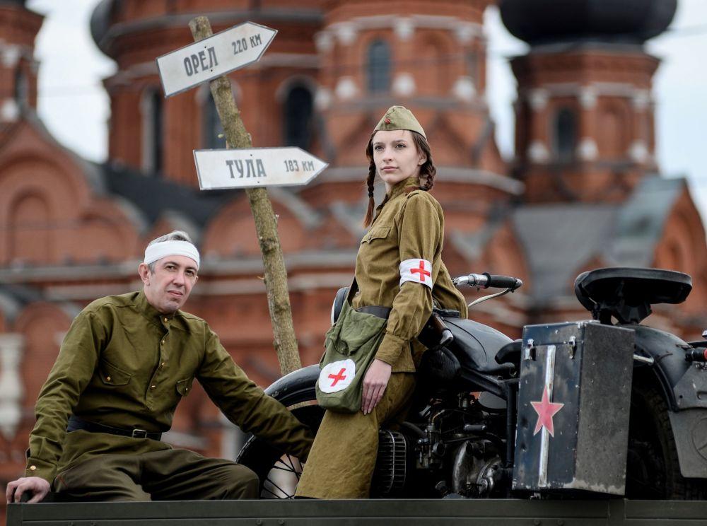 العرض العسكري الأولي بمناسبة الذكرى الـ 71 لعيد النصر في الحرب العالمية الثانية (الحرب الوطنية العظمى 1941-1945)