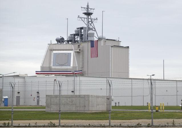 رادار تابع لنظام الدفاع الأمريكي المضاد للصواريخ في رومانيا