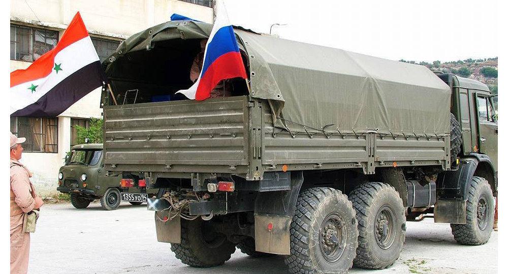 المساعدات الإنسانية الروسية لسوريا