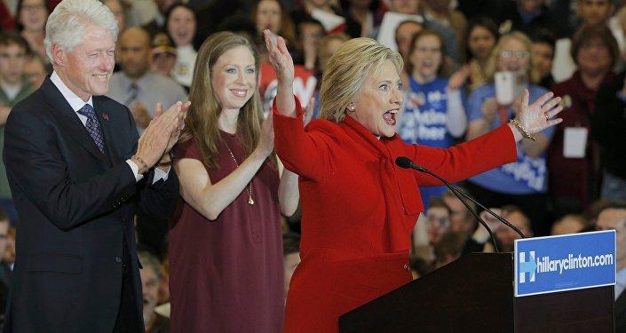 هيلاري وبيل كلينتون