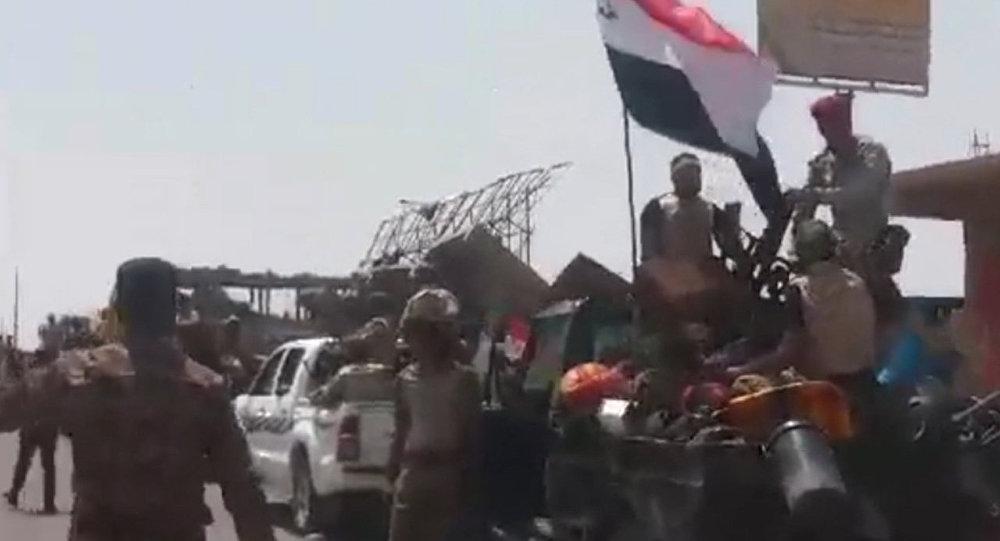 بدء عملية طرد الدواعش من الرطبة العراقية