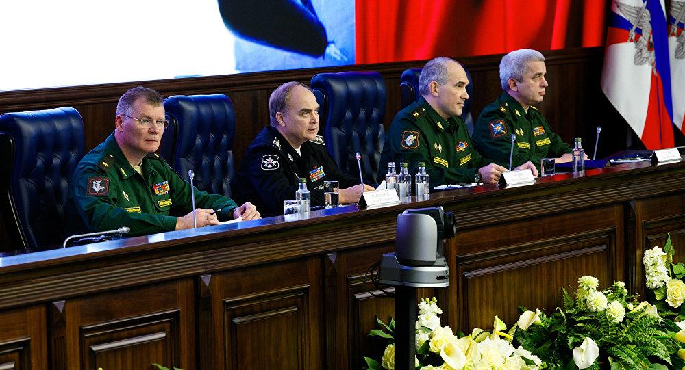المتحدث باسم وزارة الدفاع الروسية ايغور كوناشينكوف
