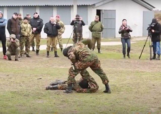 القوات الخاصة الروسية تقاتل بعضها