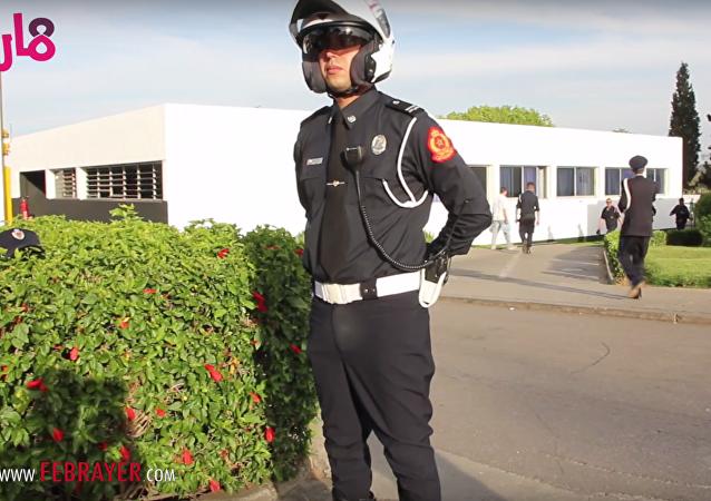 الزي الجديد للشرطة المغربية