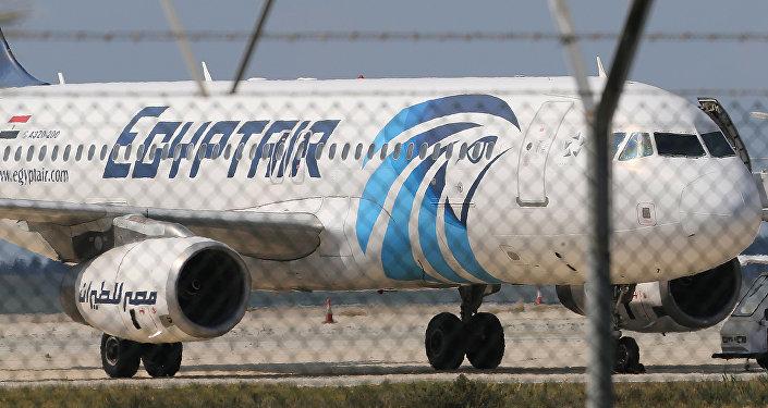 طائرة تابعة لشركة مصر للطيران