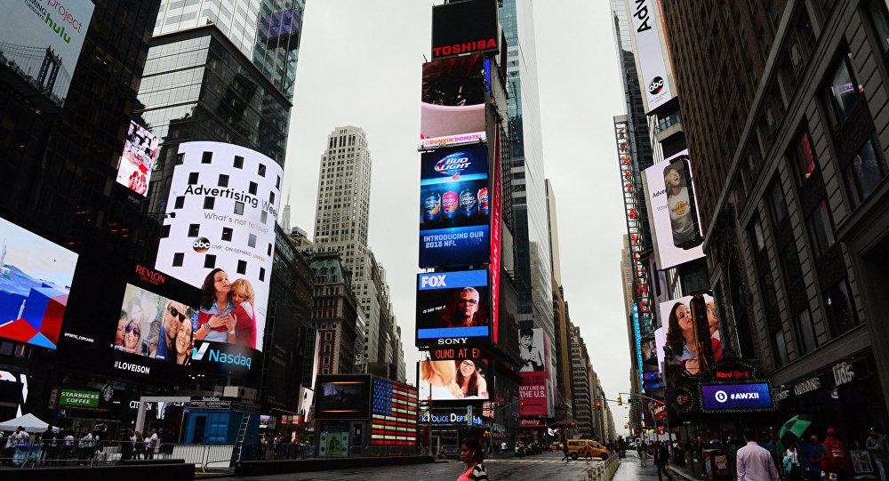 تايمز سكوير في نيويورك