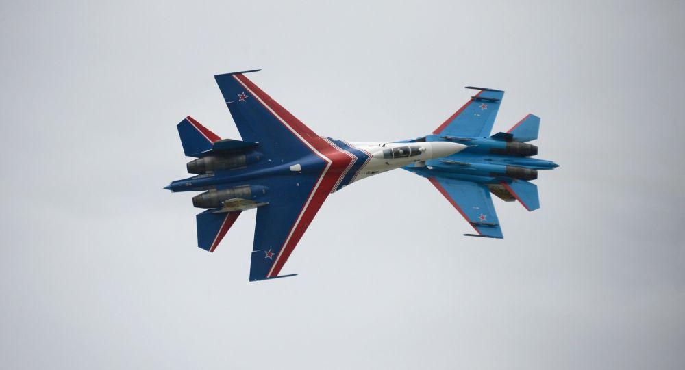 مقاتلات سو 27 الروسية
