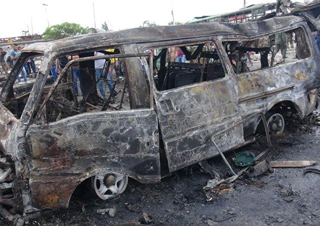التفجيرات الانتحارية في جبلة وطرطوس