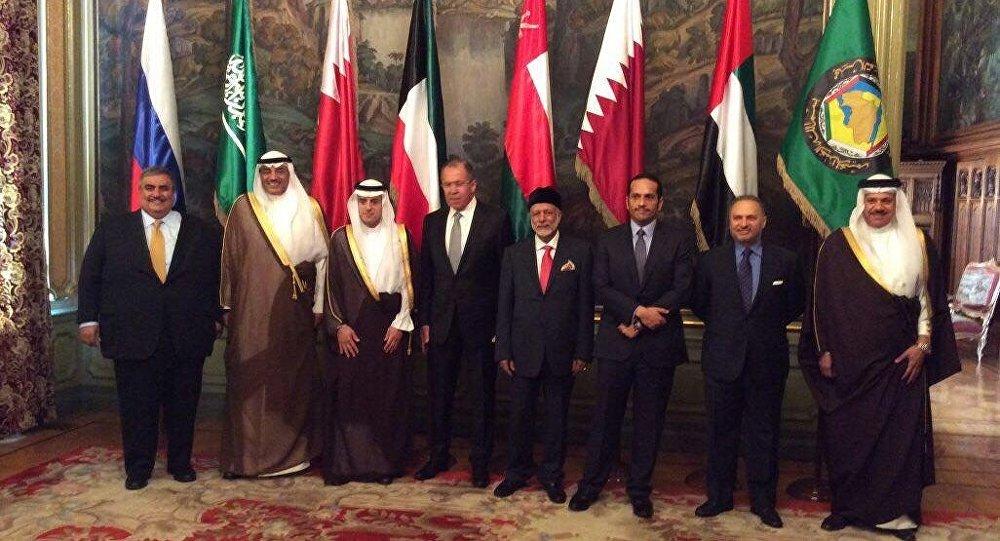 اجتماع وزراء خارجية دول الخليج وروسيا