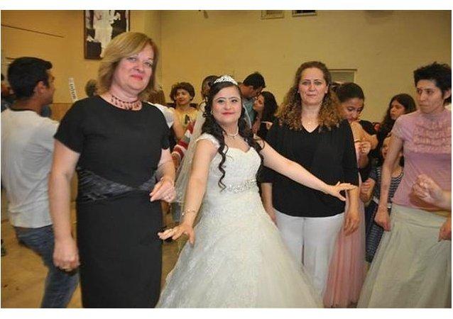 حفل زفاف بدون عريس