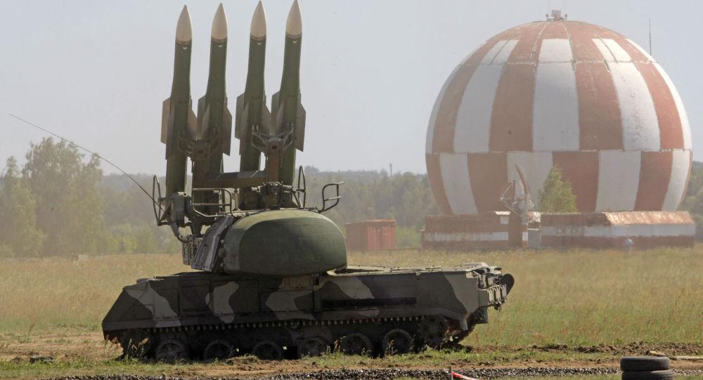 بالفيديو...إسقاط طائرة افتراضية من قبل قوات الدفاع الروسية