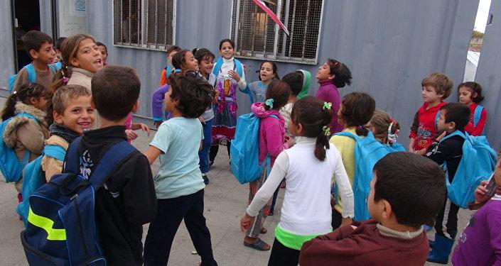 أطفال كفريا والفوعة